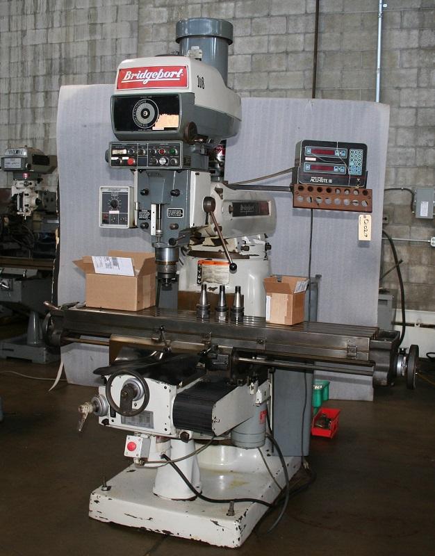 Bridgeport Series II Heavy Duty Vertical Knee Mill